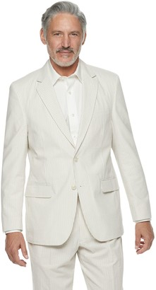 Men's Palm Beach Brock Classic-Fit Seersucker Suit Jacket