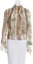 Intermix Silk Printed Top