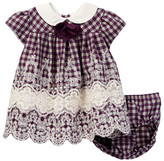 Iris & Ivy Yarn Dyed Plaid Dress & Bloomer Set (Baby Girls)