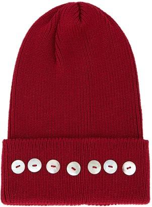 Isola embellished beanie hat