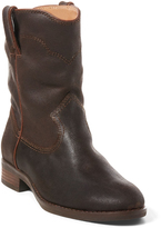 Polo Ralph Lauren Brown Marlow Distressed Leather Boot - Little Kid & Big Kid