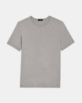 Theory Essential Tee in Slub Cotton