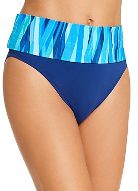 Bleu Rod Beattie Fold-Over Bikini Bottom