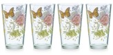 Lenox Butterfly Meadow Collection 4-Pc. Highball Drinkware Set