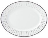 Lenox Onyx Platinum Oval Platter