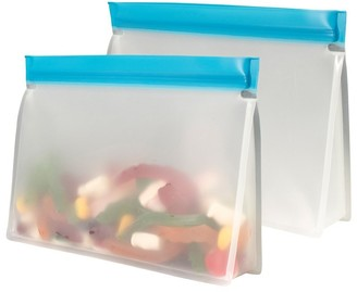Avanti Reusable Vinyl Snack Bag 1L Set of 2