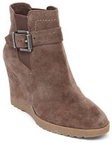 Vince Camuto Landri Suede Wedge Ankle Boots