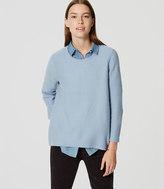 LOFT Petite Bell Sleeve Sweater