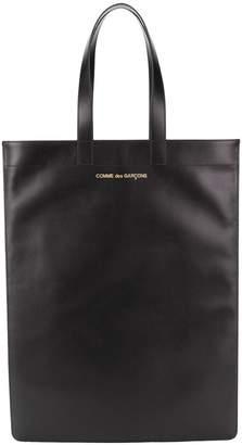 Comme des Garcons leather tote bag
