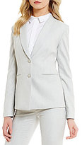 Antonio Melani Clansy Jacquard Basketweave Blazer Jacket