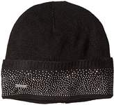 Calvin Klein Women's One Size Studded Slouchy Beanie