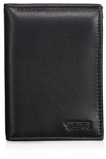 Tumi Delta Leather L-Fold ID ID Wallet
