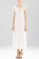 Natori Muse Cap Sleeve Gown