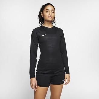 Nike Women's Long-Sleeve Soccer Jersey Dri-FIT Tiempo Premier
