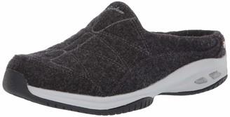 Skechers Women's Commute TIME-SHEEPISH-Premium Wool Open Back Slip-On Mule