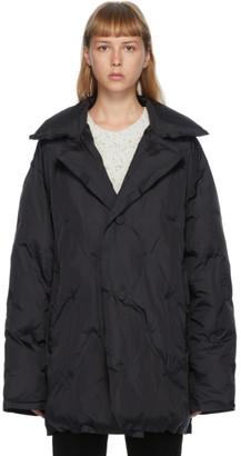 Maison Margiela Black Nylon Quilted Jacket