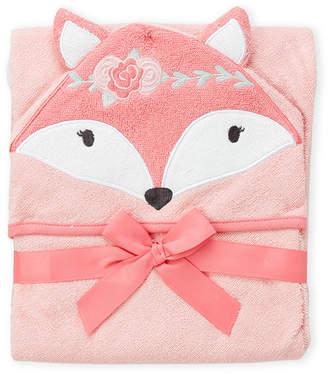 Hudson Baby Newborn/Infant Girls) Boho Fox Hooded Towel