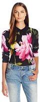 Ted Baker Women's Merilie Citrus Bloom Sweater