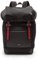 Givenchy Canvas And Leather Backpack