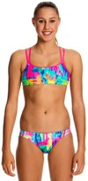 Funkita Girls Impressionista Criss Cross Set