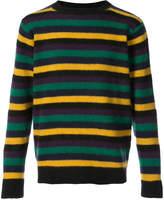 The Elder Statesman striped crew neck jumper