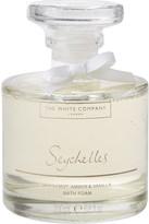 The White Company Seychelles bath foam decanter 200ml