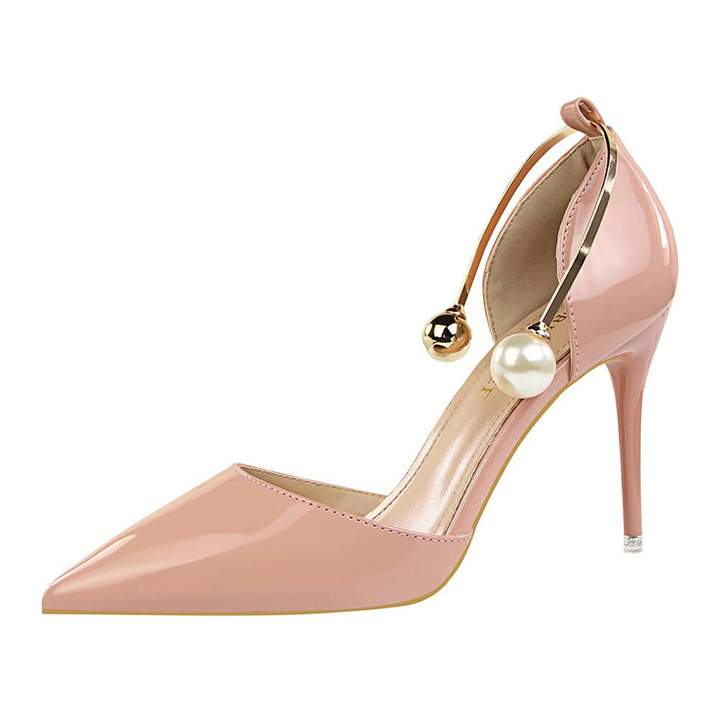 ecc3e3cc051 AM-Bigtree Sexy Lady Dress Shoes Women Pumps Heels Festival Party Wedding  Shoes Stiletto High Heels Formal Pumps AMB056(4, )