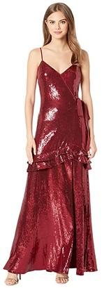 Rachel Zoe Walker Dress (Merlot) Women's Dress