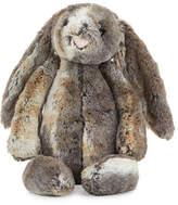 Jellycat Large Woodland Bunny Stuffed Animal, Gray