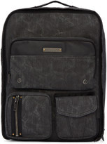 Diesel Black Gear Backpack