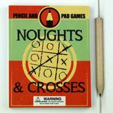 Nest Pad And Pencil Noughts And Crosses Game