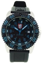 Luminox Men's 3153 Stainless-Steel Analog Rubber Bezel Watch
