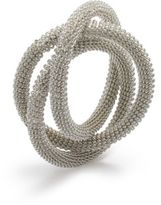 Sur La Table Silver Mesh Napkin Ring
