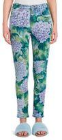 Dolce & Gabbana Hydrangea-Print Skinny Jeans