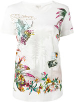 Etro travel print T-shirt