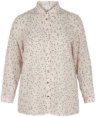 Zizzi Long-Sleeved Printed Shirt