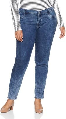 James Jeans Women's Plus Size Skinny Leggy Jean in High Tide 20W