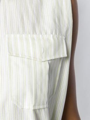 Calvin Klein Stripe Shirt Dress