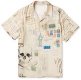 Alexander Mcqueen - Camp-collar Printed Voile Shirt