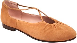 Taryn Rose Collection Alessandra Weatherproof Leather Flat