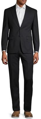 Calvin Klein Extra Slim Fit Classic Wool Suit