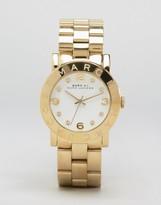 Marc Jacobs Amy Gold Bracelet Watch MBM3056