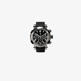 Rj Watches black Arraw Chronograph Watch