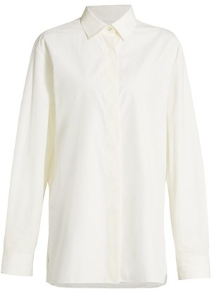 The Row Big Sisea Cotton Shirt