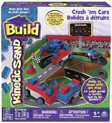 Kinetic Sand Build Crash'em Cars
