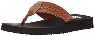 Yellow Box Women's Flax Wedge Sandal
