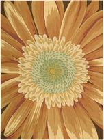 Nourison Sunflower Blossom Hand-Hooked Rectangular Rug