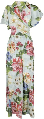 Dolce & Gabbana Floral Print Jumpsuit