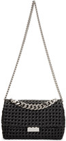 Stella McCartney Black Becks Weaved Bag