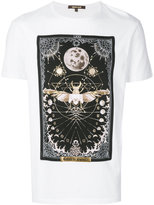 Roberto Cavalli beetle print T-shirt - men - Cotton - XS